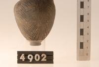 Black-burnished and incised jug.