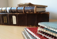Excavation diaries and other written documentation in the OREA archive.