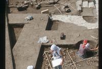 Building L with plastered floor still in situ, area H/VI, spring 2005 (photo: M. Weissl © ÖAI/OREA)